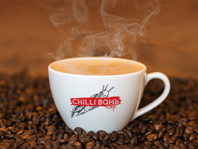 Chilli Bomb Cafe logo